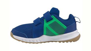 Adidas FortaGym Hallenschuhe Kinder blau grün – Bild 2
