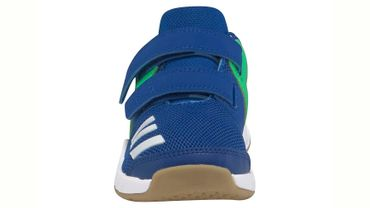 Adidas FortaGym Hallenschuhe Kinder blau grün – Bild 3
