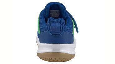 Adidas FortaGym Hallenschuhe Kinder blau grün – Bild 5