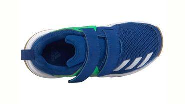 Adidas FortaGym Hallenschuhe Kinder blau grün – Bild 4