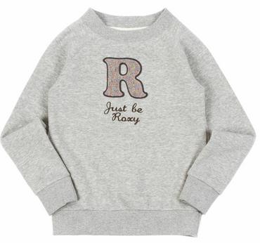 ROXY If I Knew Sweatshirt mit Applikation Kinder Girls Mädchen NEU