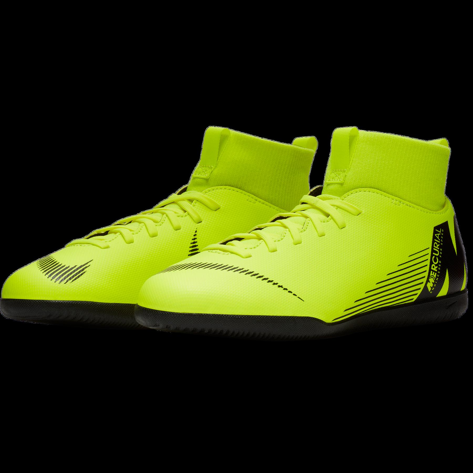 big sale 3b8ab e8745 Nike Superfly 6 Club IC Hallenschuhe Kinder gelb