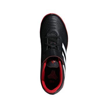 Adidas Predator Tango 18.4 IN Hallenschuh Kinder schwarz rot – Bild 3