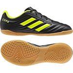 Adidas Copa 19.4 IN Hallenschuhe Kinder schwarz gelb 001