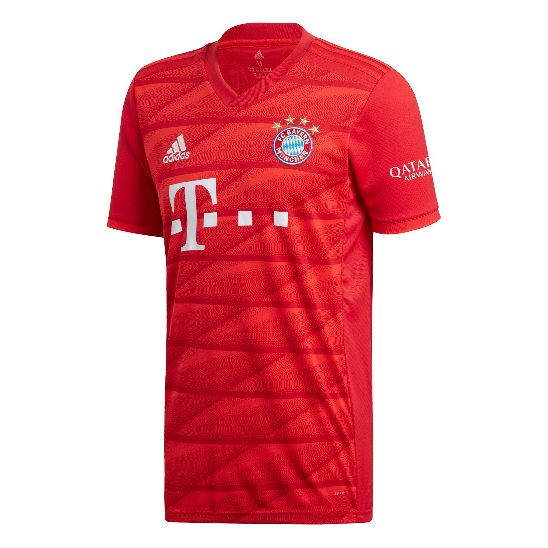 Bayern München Heimtrikot Adidas Herren rot 2019/2020