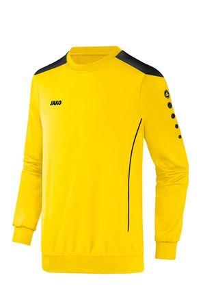 Jako Sweatshirt Pullover Cup Kinder gelb-schwarz