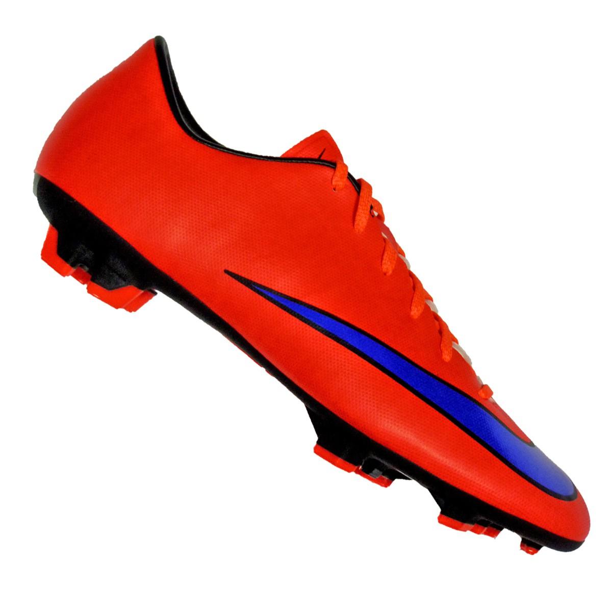Details zu Nike Mercurial Victory V FG Herren Fussballschuhe rot violett Neu