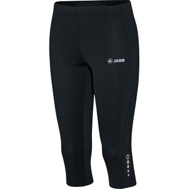 Jako Capri Tight Run Damen schwarz