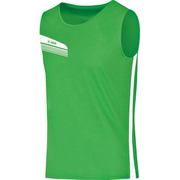 Jako Tank Top Athletico Kinder soft green weiß