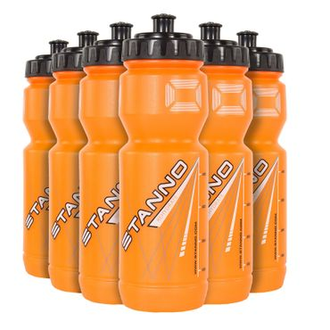 Stanno Trinkflaschen Set 6er Pack orange