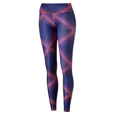 Puma all eyes on me Tight Damen red blast royal blue – Bild 1