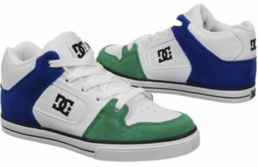 940f3f0660b8f5 DC Shoes Youth Radar white green Kinder Sneaker Skaterschuh Boys NEU