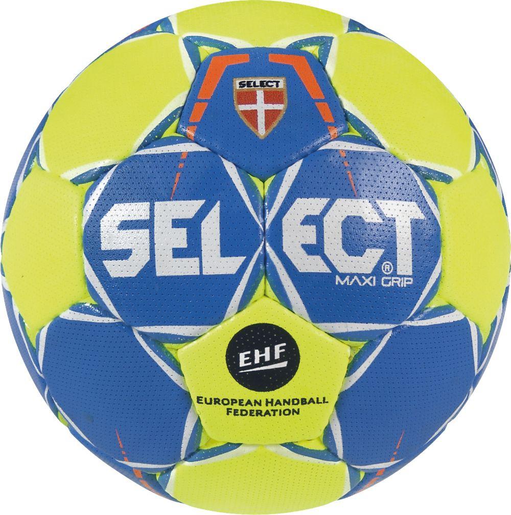 Select Maxi Grip 2.0 Handball blau gelb selbstklebend NEU