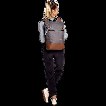 AEVOR Daypack Rucksack grau braun – Bild 7