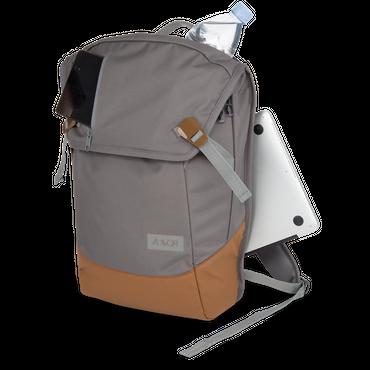 AEVOR Daypack Rucksack grau braun – Bild 6