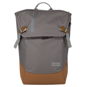 AEVOR Daypack Rucksack grau braun – Bild 1