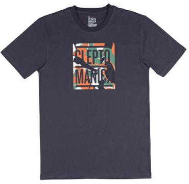 CLEPTOMANICX  Camou Bold  T-Shirt Herren  NEU
