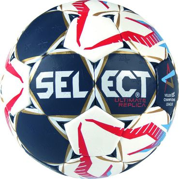 Select ULTIMATE REPLICA CL Trainingsball blau rot weiss Herren