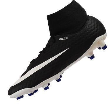 Nike Jr Hypervenom Phelon 3 DF FG Kinder schwarz blau – Bild 2