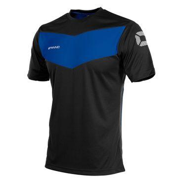 Stanno Fiero T-Shirt Kurzarm schwarz royal – Bild 1