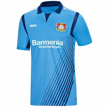 Bayer 04 Leverkusen Trikot Bayer Away KA skyblue Kinder 2017/2018