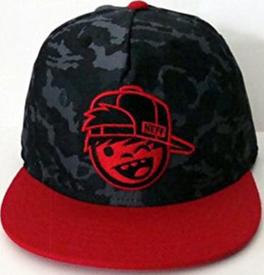 Neff Youth Razer  Snapback Cap black/camouflage Kids NEU