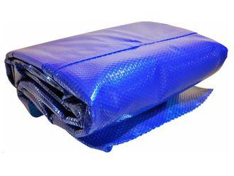 Solarfolie / Solarplane blau 400 my PREMIUM Zuschnitt oval