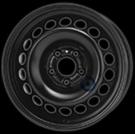 Stahlfelge SF AUDI A4 VW SEAT 7.0X16 9537 165201 AD516014 16107 R1-1702