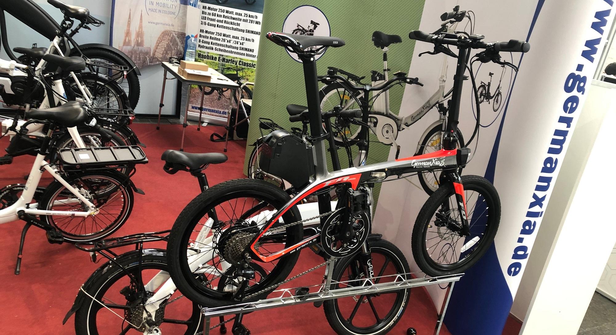 Produkte auf der Faltrad Welt