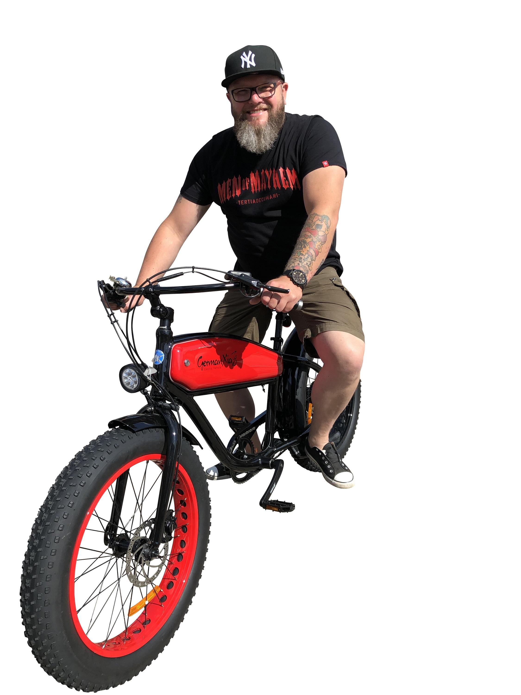Echtes Harley-Feeling mit E-Fatbike