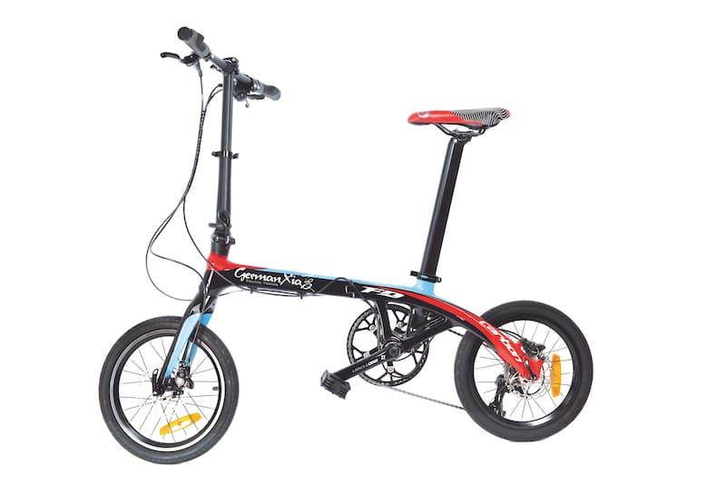 Carbon Faltrad von der Seite