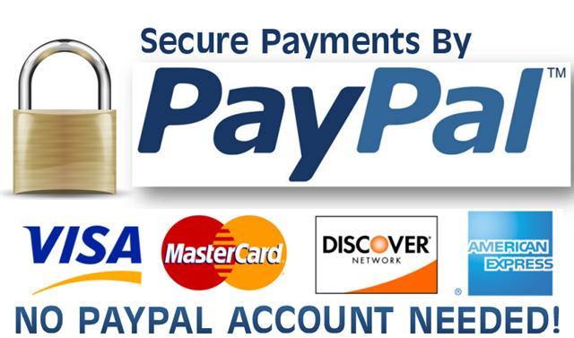 Logo sicheres bezahlen mit Paypal