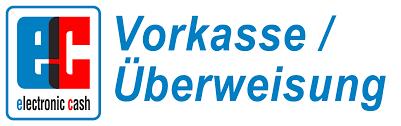 Logo für Vorkasse oder Überweisung