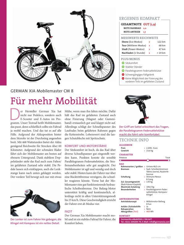 E-Bike Magazin Ausschnitt