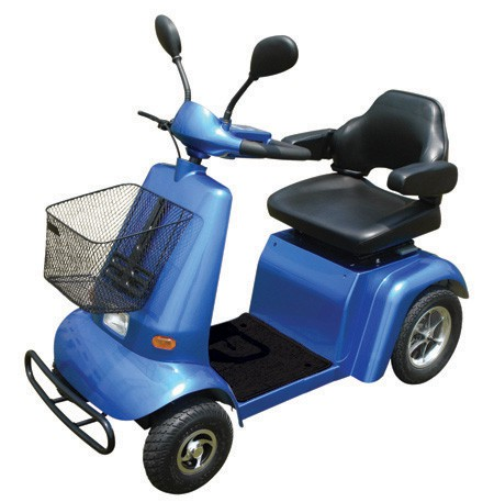 "GermanXia Elektromobil Scooter ""Voyager"" 450-45, Farbe Silber"