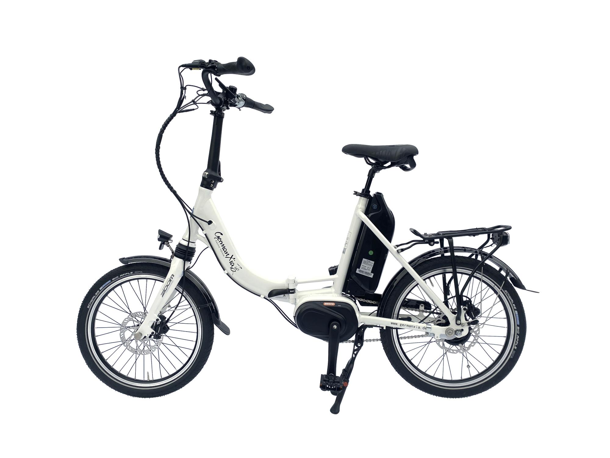 E-Bike Klapprad Mobilemaster Offroad CM 8G Bafang Mittelmotor 80Nm mit Gates Carbon Riemen