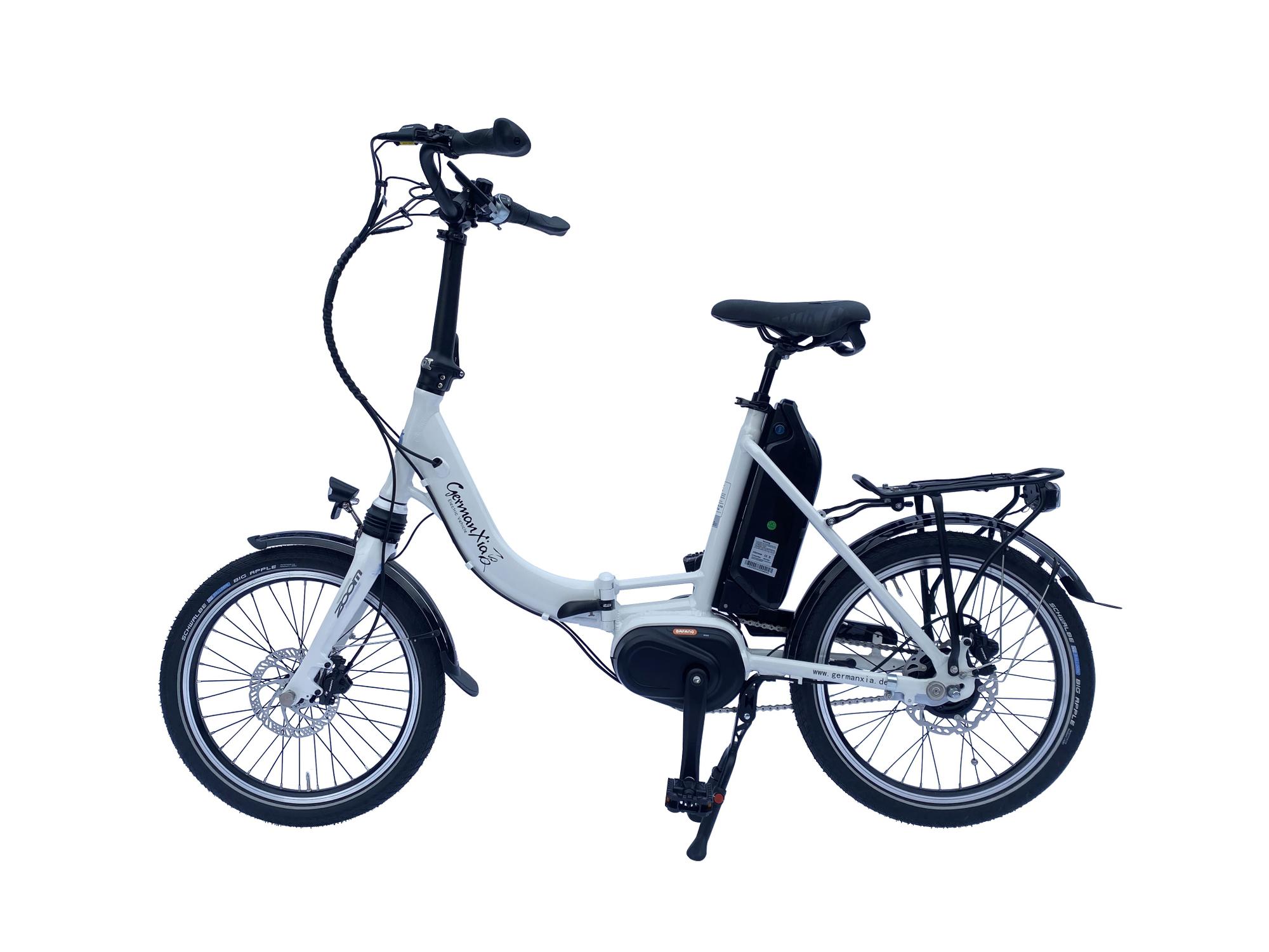 E-Bike Klapprad Mobilemaster Offroad CM 8G Bafang Mittelmotor max. 80 Nm. mit Kettenantrieb