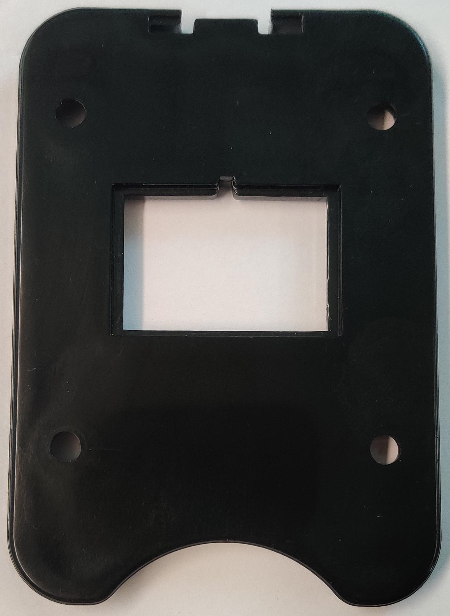 Sockelplatte aus Plastik für 15,6 Ah Akku