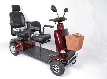 GermanX Elektromobil Traveller 800-6, 800 Watt/75 Ah, 6 km/h