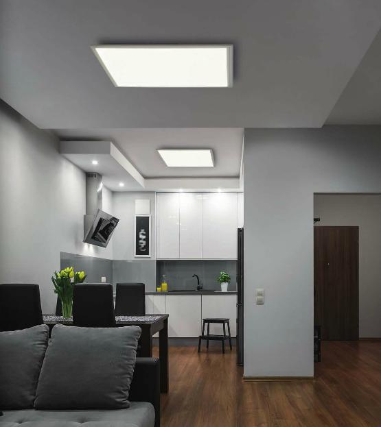 led panel 30x30 cm 2100 lumen 16 watt eglo salobrena 96152. Black Bedroom Furniture Sets. Home Design Ideas