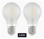 LED Leuchtmittel Fillament matt E27 450 Lumen 2er Pack Eglo 11523 001
