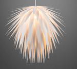 LED 6 Watt Pendelleuchte Pendel Weiß Leuchte Lampe 15114LED  001
