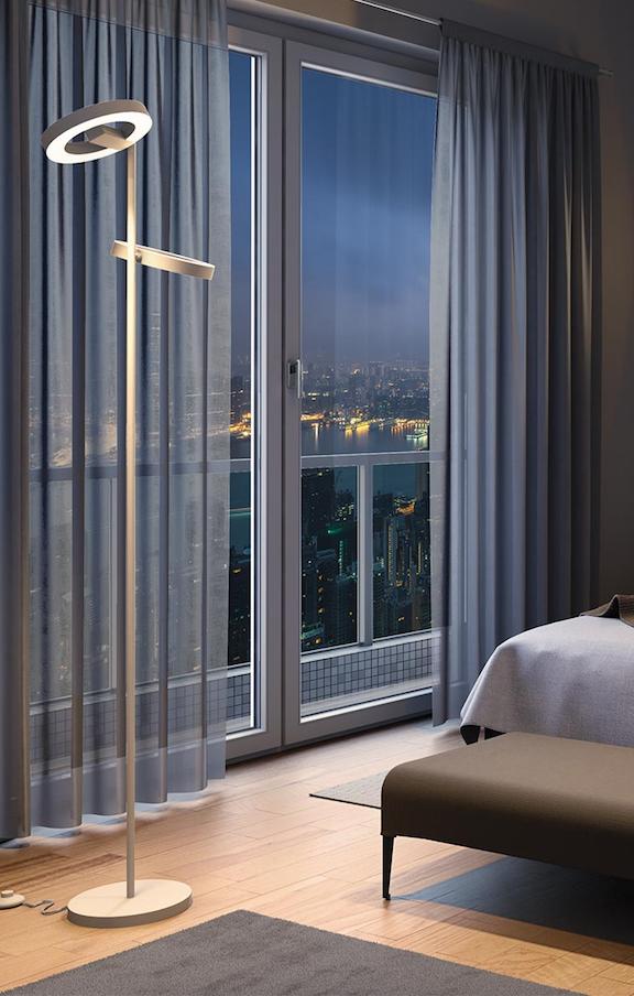 smart lighting stehleuchte osram lightify gateway led mit. Black Bedroom Furniture Sets. Home Design Ideas