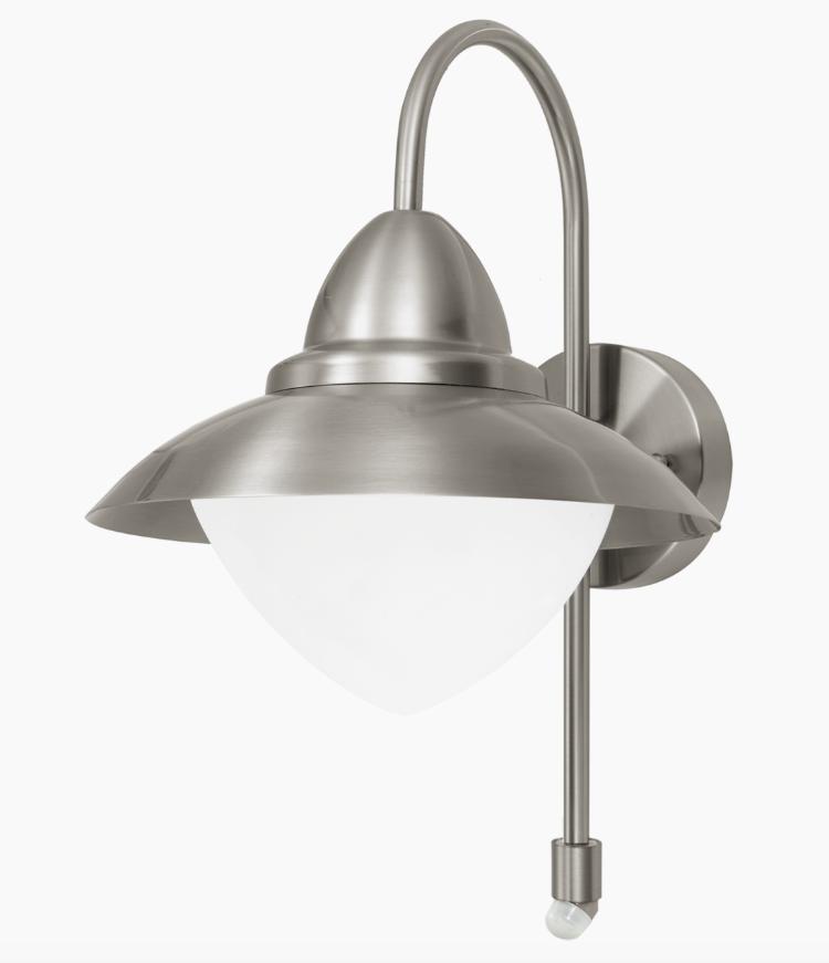 wandlampe edelstahl aussenlampe aussenleuchte mit. Black Bedroom Furniture Sets. Home Design Ideas