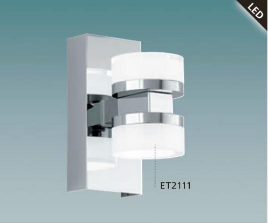 led wandlampe badlampe badleuchte spiegellampe leuchte ip44 96541 wohnraumleuchten badleuchten. Black Bedroom Furniture Sets. Home Design Ideas