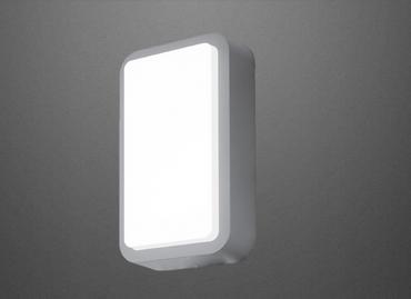 Led Wandlampe IP44 1300 Lumen Aussenlampe Aussenleuchte Silber Eglo Lampe Leuchte 95105