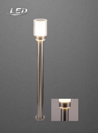 LED Aussenleuchte Aussenlampe Lampe Leuchte Standleuchte Edelstahl 34582