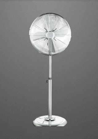 Vertilator Standverntilator Chrom Höhenverstellbar 3 Stufen Bodenventilator 421