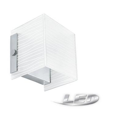 Neu LED Wandleuchte Wandlampe  Glaslampe Glas  Lampe  G9 LED 91984