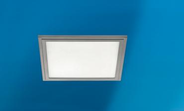 LED Panel grau 30x30 cm 2100 Lumen 4000 k 16 Watt  Eglo dimmbar 97636  – Bild 2